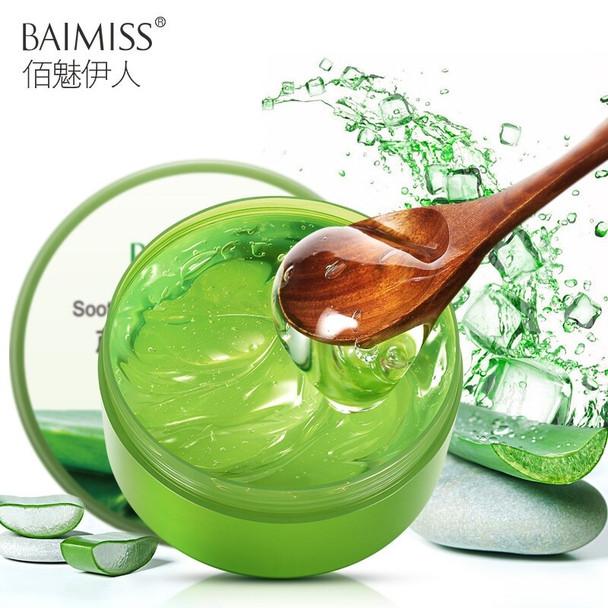 BAIMISS 300g Aloe Vera Gel Face Cream Acne Scar Remover Face Skin Care Acne Treatment Whitening Moisturizing Anti Stretch Marks