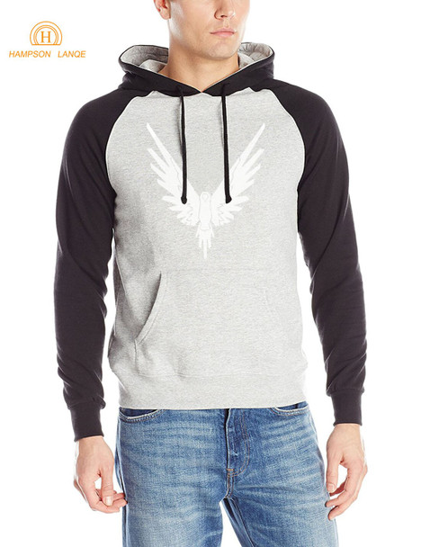 Logan Jake Paul Team 10 Animal Men Raglan Hoodies 2019 Autumn Winter Warm Fleece Sweatshirt Hipster Men's Hoody Casual Tracksuit