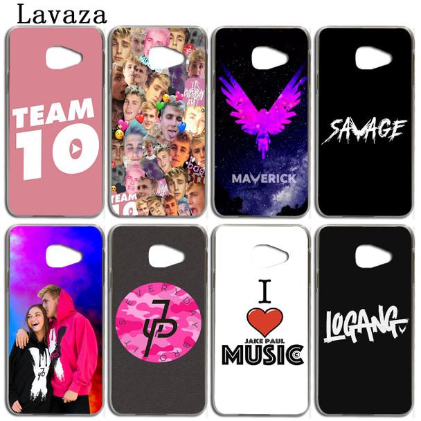 Lavaza logan Jake Paul Team 10 Phone Case for Samsung Galaxy A5 A3 2017 2016 2015 A9 A6 A7 A8 Plus 2018 Note 9 8 A6Plus Cover