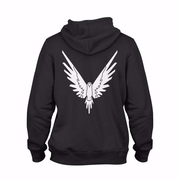 New winter sweatshirts men Logang Hoodie printed FRONT AND BACK with Eagle Jake & Paul & Logan cotton fleece hoodie sweatshirt