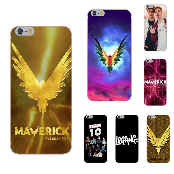 Omdnwd For Samsung Galaxy A3 A5 A7 J1 J2 J3 J5 J7 2015 2016 2017 Soft TPU Accessories Pouches Celebrity Jake Paul