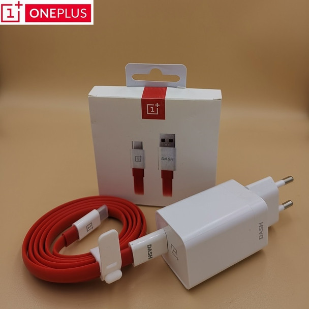 Original Oneplus Dash Charger 5V4A For One plus 6T 5/5T/3/3T Dash Charge Adapter 1M/1.5M Flat Round Dash USB Charge Type C Cable