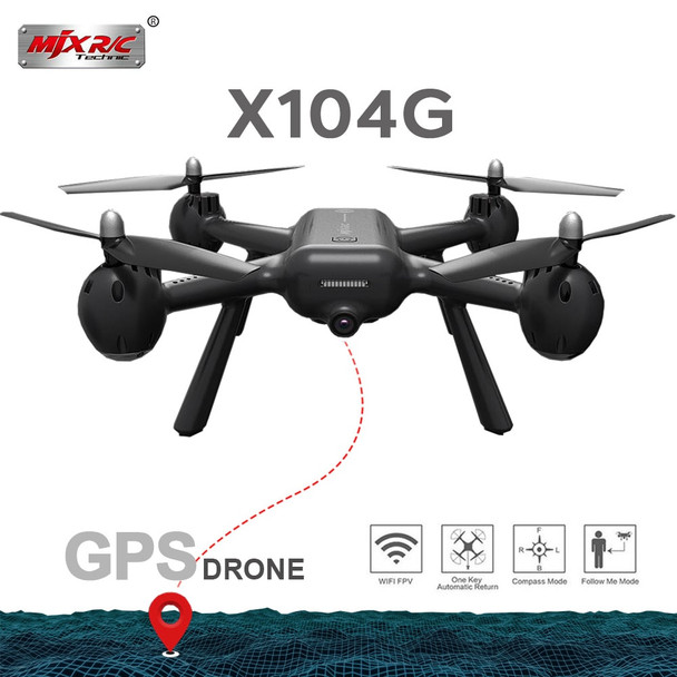 MJX X104G Hollow cup Motor GPS RC Drone With 5G WIFI FPV HD Camera RC Quadcopter VS Z5 RC Helicopter Gift Toys RC Dron