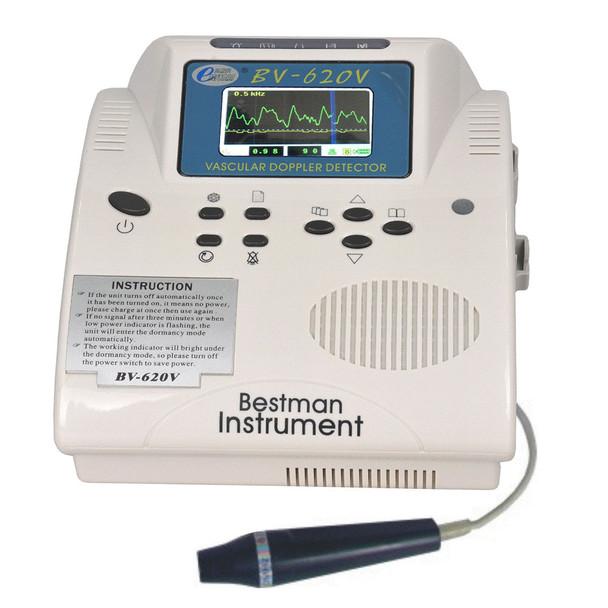 Ultrasound Bidirection Vascular Doppler 8Mhz Pencil Probe detect Blood Flow Velocity Display by LCD ABI Doppler Vascular