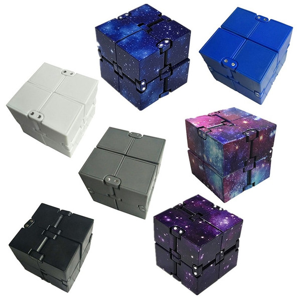 New Fashion Colourful Infinite Magic Cube For Kids Creative Decompression Toy Children's Early Education Toys Folding Magic Cube