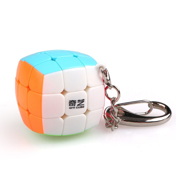 QiYi 3x3 Magic Cube 30mm Size Keychain Decoration