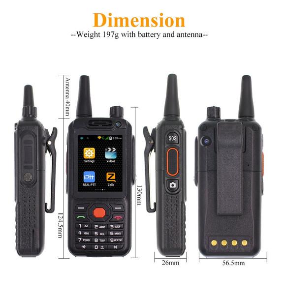 4G LTE Android Walkie Talkie G25 Poc network Phone Radio Intercom Rugged Smart phone Zello REAL PTT Radio F25