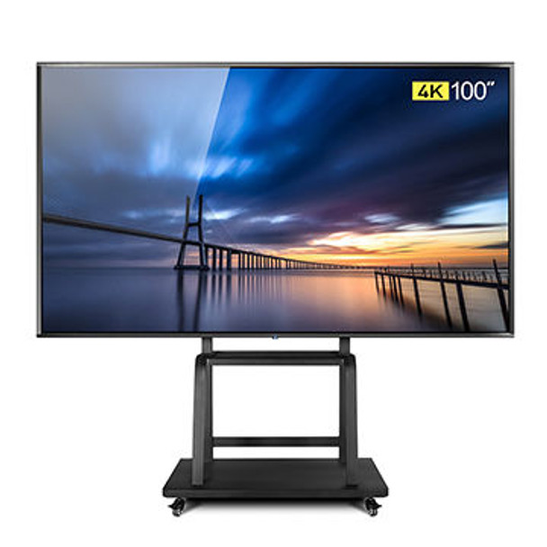 100 inch 4K LED TV/Super TV with android OS, it support LAN/WIFI network smart television