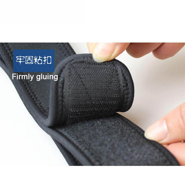 1Pc Single Shoulder Support Bandage Fitness Brace Gym Product Tennis Sport Training Equipment Shoulder Belt Left Shoulder Z16401