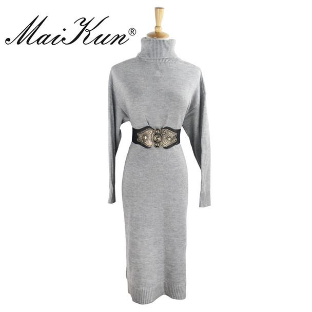 MaiKun Women's Wide Belts for Women belt Designer Brand Elastic Belt High Quality belt Cummerbund