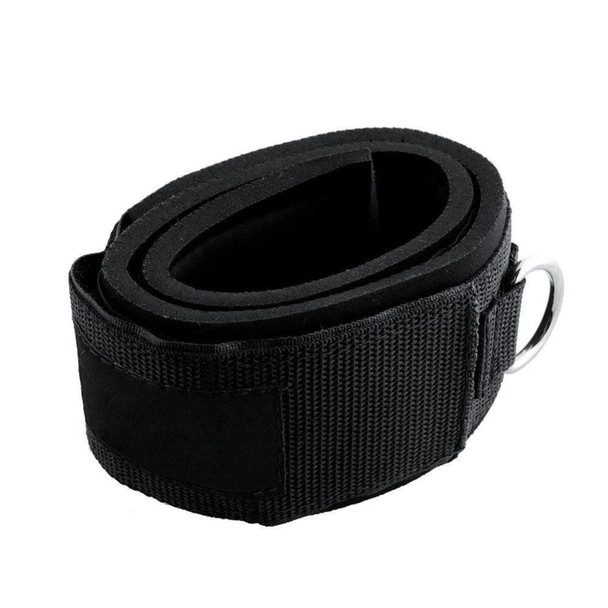 1 Pair Padded Thigh Resistance Band Rope Straps Gym Strength Training Fitness Exercise Accessories Ankle Straps Cuff Grips