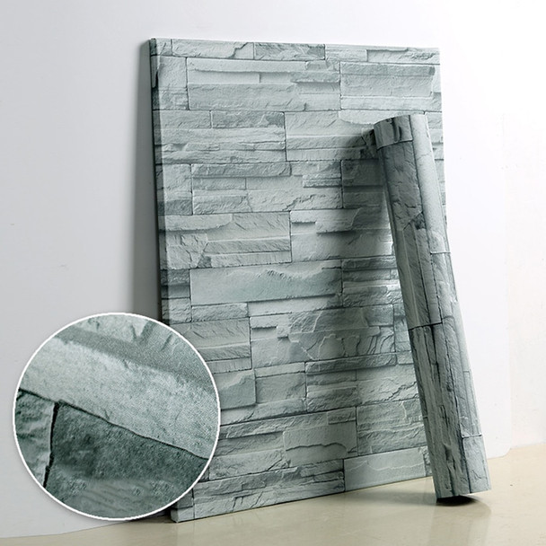 5M/10M Living Room Kitchen Bathroom Waterproof Wall Sticker Home Decor Removable Vinyl PVC Brick Stone Self Adhesive Wallpaper