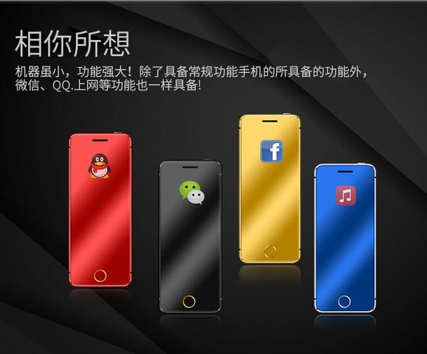 "ULCOOL V66 Plus Phone With Super Mini Ultrathin Card Luxury MP3 Bluetooth 1.67""inch Dustproof Shockproof phone"