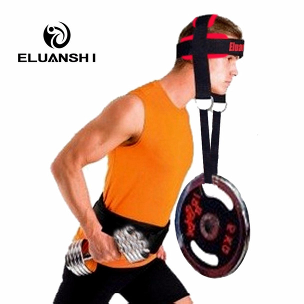 Head Lifting Belt Body Building Weight Fitnes Equipment Fitness Sports Dumbbells Black Strength Training Apparatus Accessories