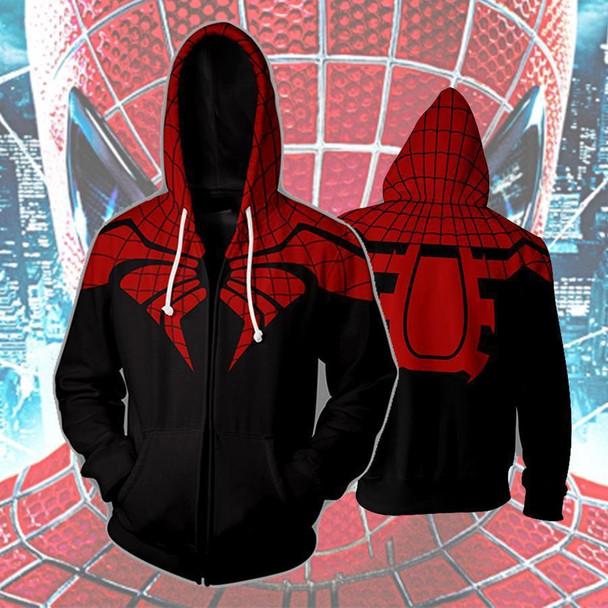 VIP FASHION New Movie Spider-Man Far From Home Cosplay Hoodies Avengers Infinity Superhero Jumpsuit Halloween Bodysuit Spiderman