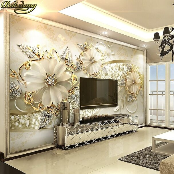 beibehang papel de parede 3d stereo living room sofa TV background wall paper bedroom bedroom non woven wallpaper large murals