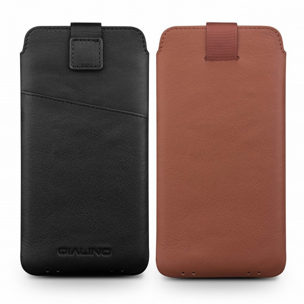 QIALINO for Samsung Galaxy S9 Case 5.8 inch Wallet Pouch for Galaxy S9 S 9 Cover Leather with Wallet Card Slot Luxury Case