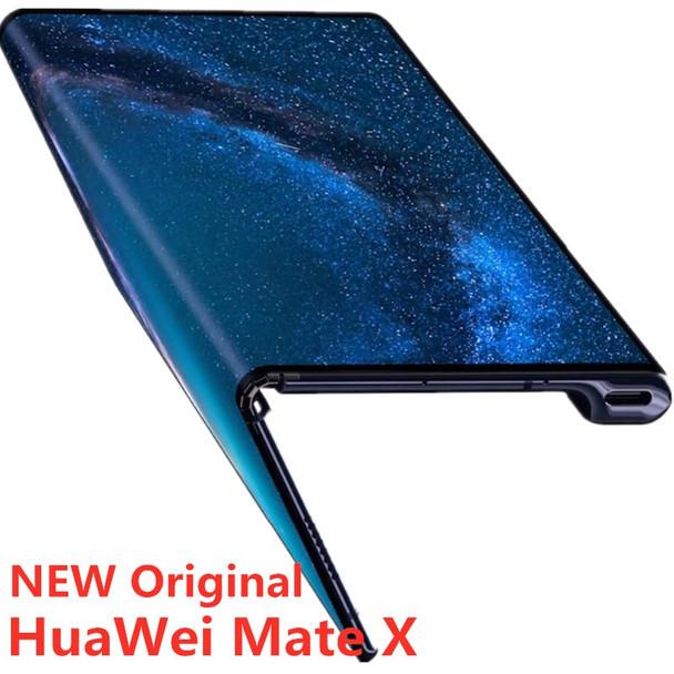Stock Newmodel HuaWei Mate X Folded Screen 5G Smart Phone Kirin 980 Balong 5000 8G RAM 256G ROM NFC 40.0MP Android Fingerprint