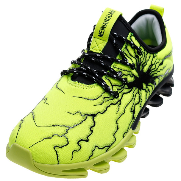 Blades soles Lightning glue surface Men Unisex Casual Shoes 36-47 with 6 colors Elasticity Control Non-slip Unisex Sneakers