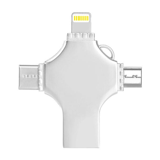 iPhone USB Flash Drive 3.0 16GB 32GB Pendrive 64GB USB Stick 128GB 256GB HD Flash Memory USB Cle For iPhoneXS Android PC Type C
