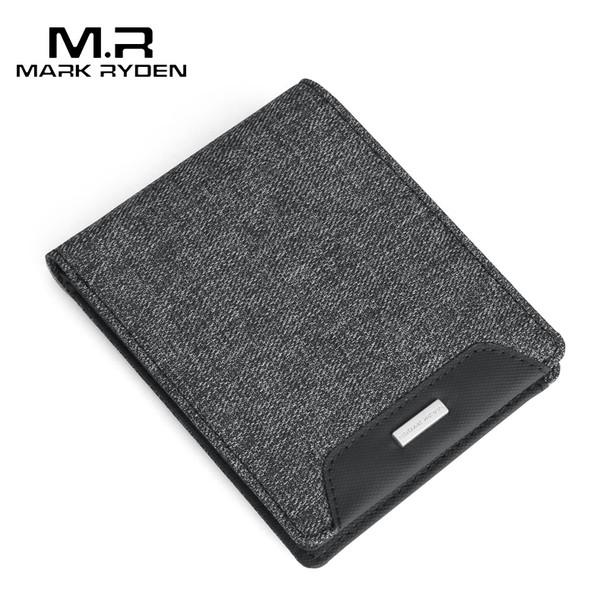 Mark Ryden 2020 New Short Wallets men Oxford Wallets Card Holders Casual Style Multi Pocket