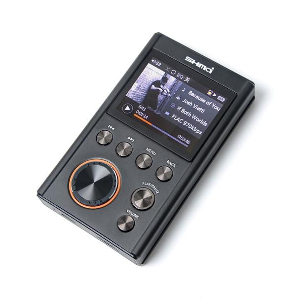 SHMCI C5 HIFI MP3 DSD Professional MP3 HIFI Music Player Support Headphone Amplifier DAC wm8965 DSD256 With OLED As ZiShan DSD
