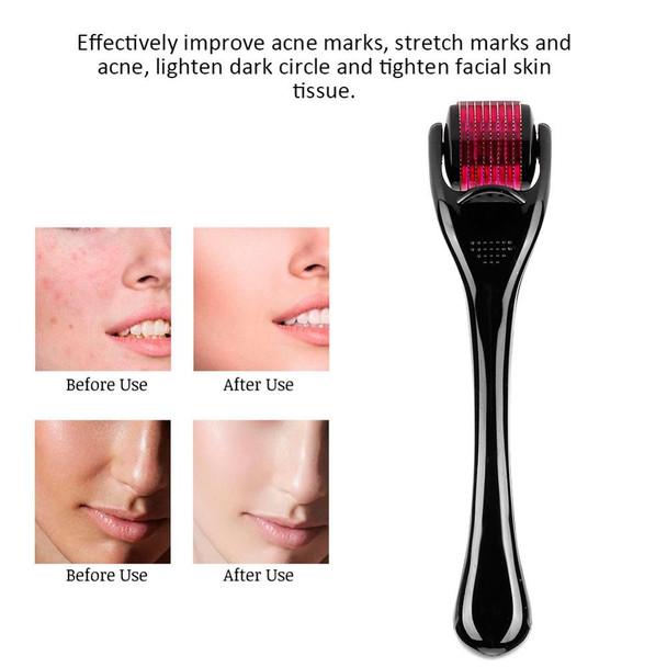 0.5 MM Stainless Steel Microblading Needle Skin Nursing Roller Wrinkle Exfoliating Repair Skin Rejuvenation Beauty Makeup Tools
