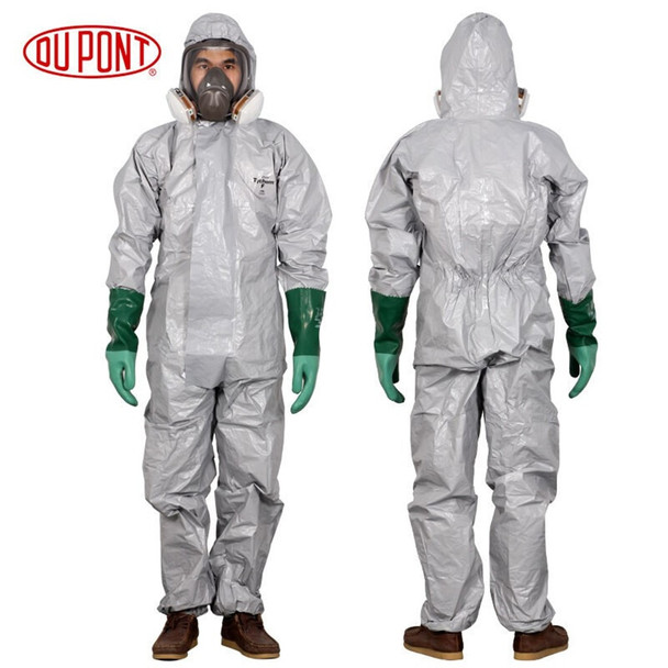 DU PONT Pro Safety Clothing Protective Coverall Chemicals Protective Clothing Sulfuric Acid Alkali Safety Coverall Chemical Suit