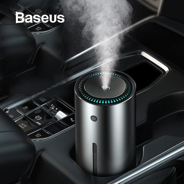 Baseus Car Air Purifier Humidifier Aluminium Alloy 300mL Auto Armo Diffuser Air Freshener Humidifier For Cars