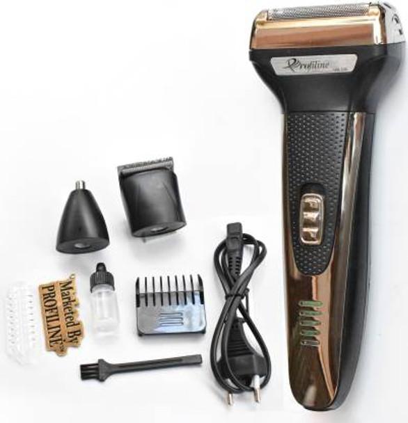 Profiline GM-598 3in1 Shaver Hair Beard Moustache Hair Cutting Machine Shaver