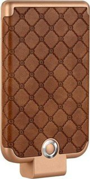 Mcart's 3600mAh PowerBank CaseBattery Charger for iPhone 5/5S/5C/6/6S/6Plus/6S Plus/7/7+/8/8Plus Color- Brown