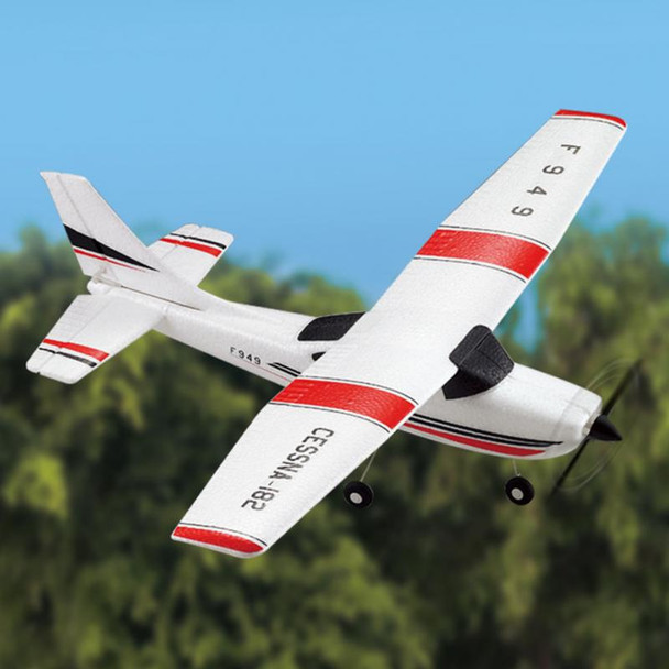 F949 Cessna 182 2.4G 3CH Aircraft Fixed-wing Drone Plane RTF RC Toys Airplane Quadcopter Outdoor helicoptero toys for kid