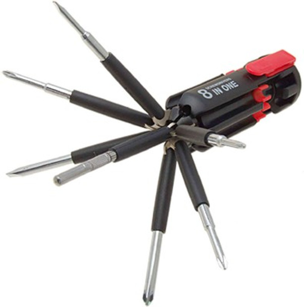 8 In 1 Multi Screwdriver LED Torch Portable Screw Driver Set Tool Kit available at Onshopdeal.com