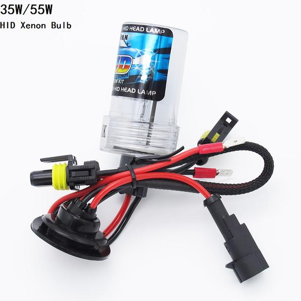 1pc 35W 55W HID Xenon Light Lamp H1 H3 H7 H8 H9 H11 9005 HB3 9006 HB4 3000K-12000K Auto Car Xenon Headlight Bulb 12V DC