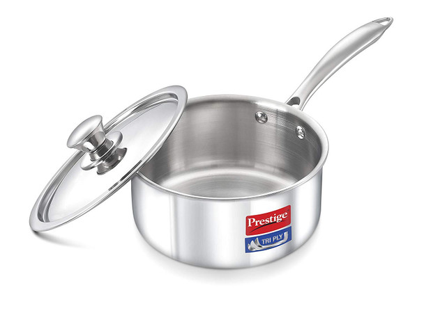 Prestige Induction Base Stainless Steel KadaI 220mm Silver