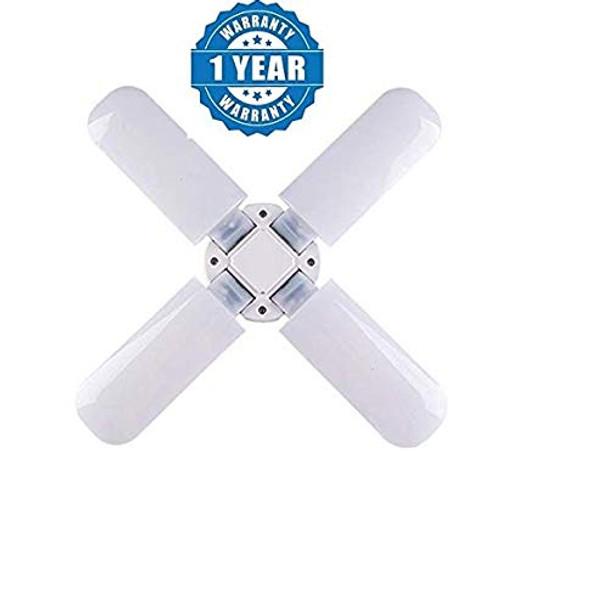 Renyke CKV_1 B22 Fan Blade led Light Bulb Super Bright Angle Adjustable Home Ceiling Lights Cool White Light ((Color May Vary) (fan bulb)
