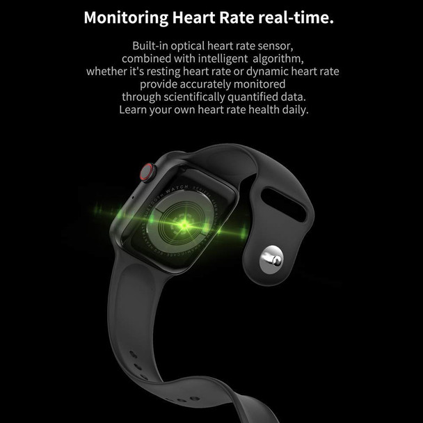 Smart Watch Bluetooth Phone Watch T500 Series 5 Bluetooth Call Smart Watch ECG Heart Rate Monitor Smartwatch for Android iOS - Black