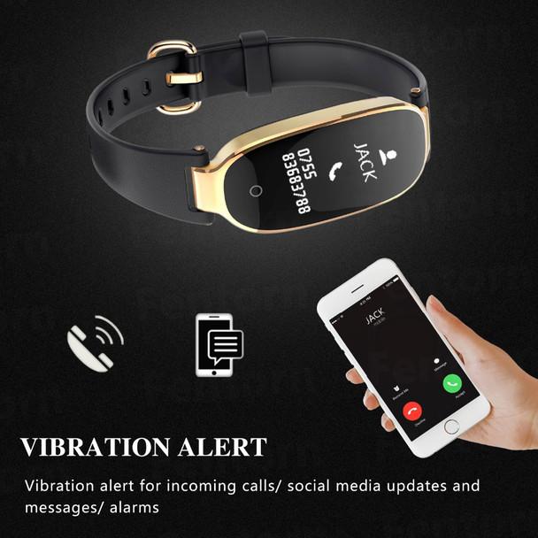 VESTMADRA S3 Fitness Tracker Smart Wristband Waterproof Heart Rate Smart Band Sports Activities Smart Bracelet for Lady Female