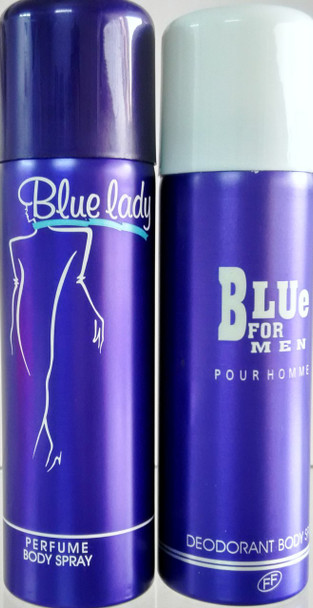 Blue lady + Blue For Men Deo (Combo pack)
