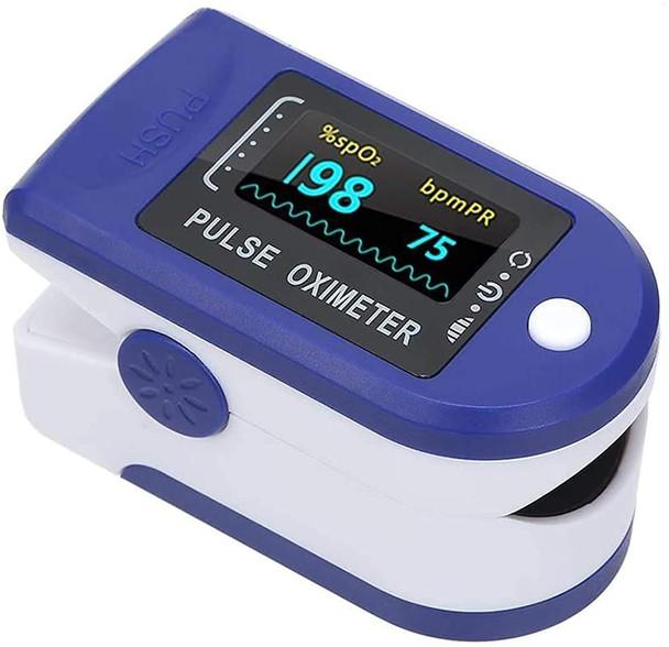 Finger Tip Pulse Oximeter Pulse Oximeter Fingertip Blood Oxygen Saturation Monitor Finger with OLED Digital Display