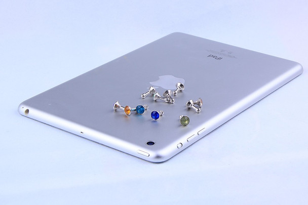 Earphone Headphone Diamonds Dust Plug Dust Cap 3.5mm Crystal Universal Mobile Phone Accessory