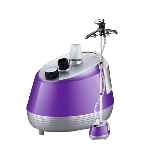 freeshipping 1800w power household portable steaming ironer garment steamer facial steaming cleaner ironing clothes 1.6L tank