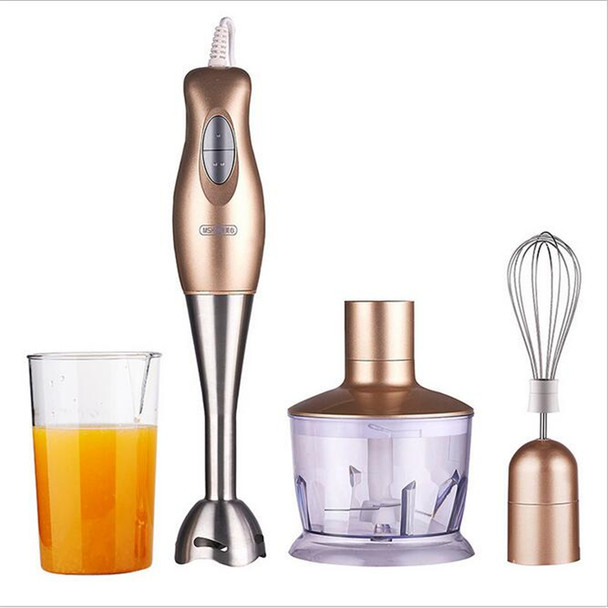 220V Handheld Electric Food Mixer Multifunction Blender Electric Cooking Machine Egg Whisk With Stainless Steel Blade