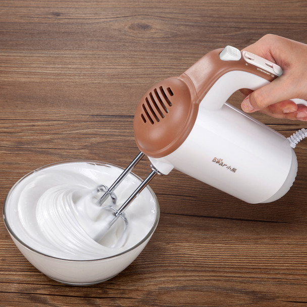 220V Handheld Automatic Electric Mixer Egg Beater Cake Butter Cream Mixer Electric Blender Frother Foamer