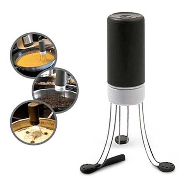 Kitchen Creative Tool Plastic Automatic Eggbeater Blender