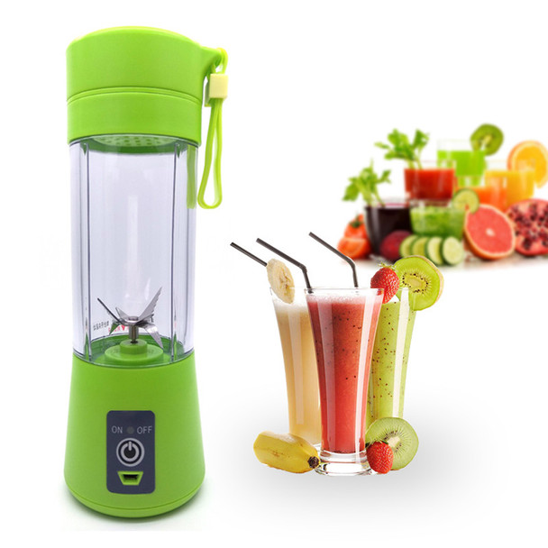 USB Multipurpose Charging Mode Juicer Juice Extractor Portable Mini Hand Blender Household Kitchen Appliances With Food Grade PC