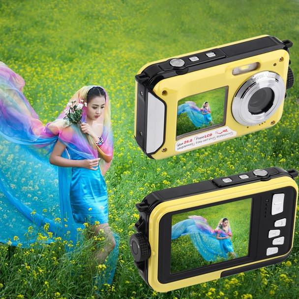 2.7inch TFT Digital Camera Waterproof 24MP MAX 1080P Double Screen 16x Digital Zoom Camcorder hot new