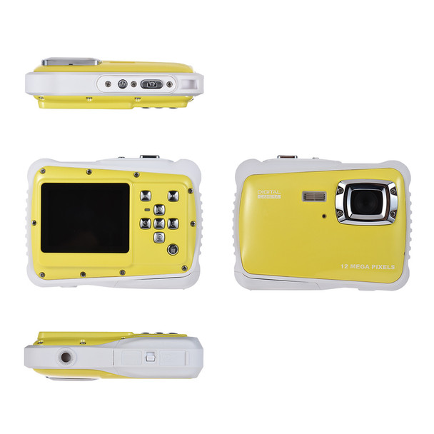 """2.0"""" LCD 720P HD Mini Digital Camera 5MP Waterproof Portable Camcorder  w/ Built-in Microphone Best Gifts for Kids Boys Girls"""