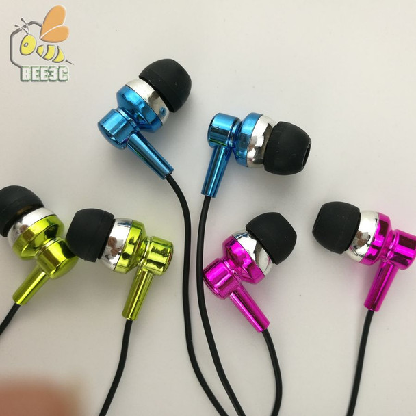 Thick wire headset earphones direct deal from factory wholesale earbuds cheap gold blue rosered gilding for iphone CP-12 500 pcs