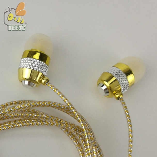 Factory direct deal wholesale shine glitter golden sliver pink earphones earcup headset with microphone mic crystal cp-14 100pcs